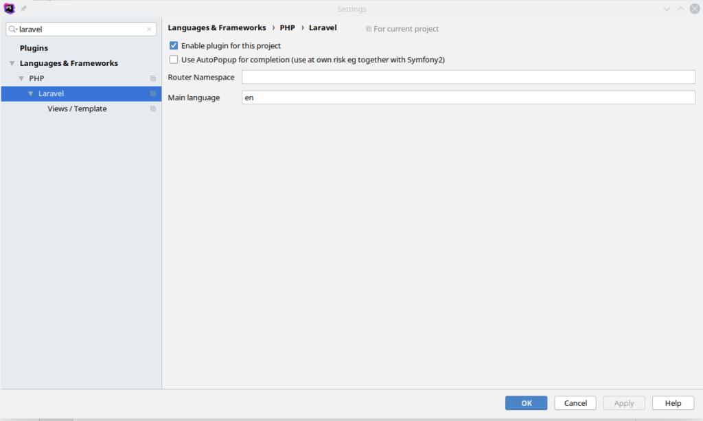 Add IDE helper to PhpStom for Laravel • Kaizendo fr